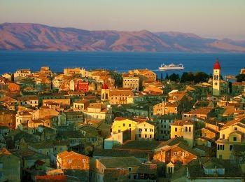 Осень на Корфу, Греция