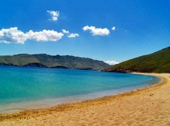 Пляж Panormos, МИконос, Греция