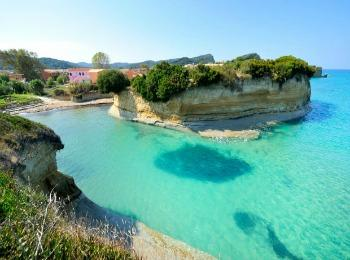 Греция, Корфу, пляж