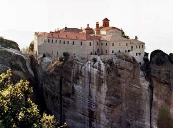 Монастырь святого Стефана, Метеоры, Греция
