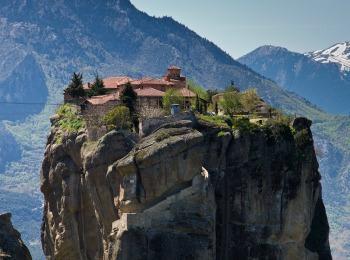 Монастырь Святой Троицы, Метеоры, Греция