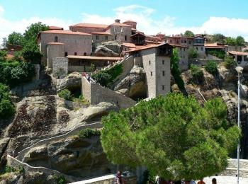 Монастырь Великий Метеор, Метеоры, Греция