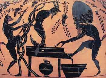 Вино в Древней Греции
