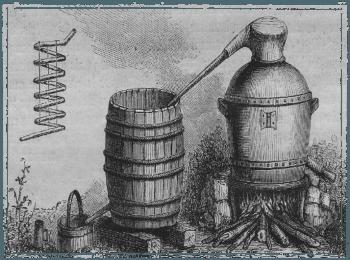 Древний аппарат для производства раки