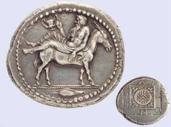 Древнегреческая монета