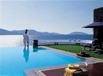 Дорогой греческий отель
