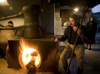 Производство раки на Крите