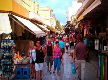 Торговые улочки Крита