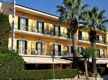 Отель Bretagne 3*, недалеко от аэропорта Корфу, Греция