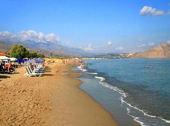 Пляж Епископи, Ретимно, Крит