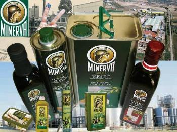 """Гречекое оливковое масло кампании """"Минерва"""""""