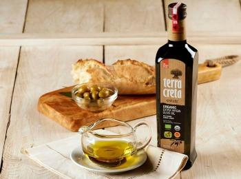Бутылка оливкового масла TERRA CRETA