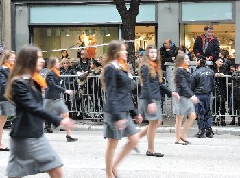 Школьный парад в Салониках, 28 октября