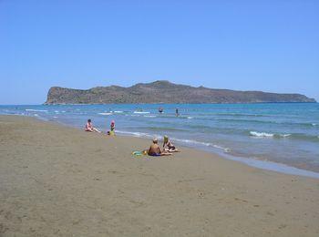 Популярный курорт острова Крит - Агия Марина