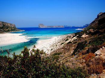 Потрясающий пейзаж бухты Балос