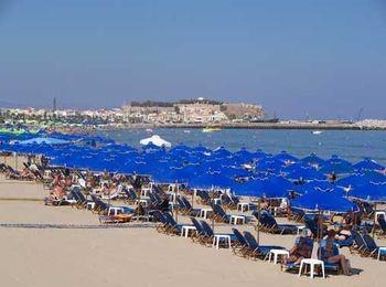 Пляж Ретимно, Крит