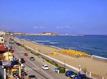 Самый большой пляж на Крите