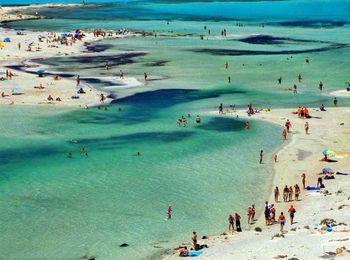 Пляж Балос - самый красивый на всем Средиземноморье