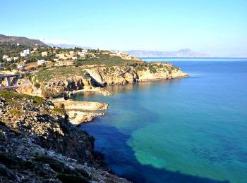 Изумрудные воды пляжа Герани, Ретимно, Крит