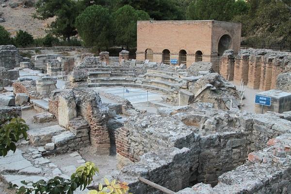Оркестровая площадка Римского театра Одеона