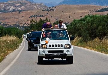 Дорога к югу от Ираклиона