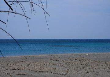 Спокойный берег Ливийского моря