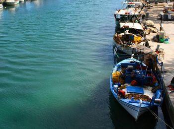 Рыбный порт на Альмиросе