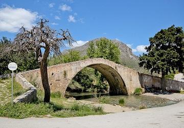 Моста на территории монастыря