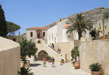 Ставропигиальный православный монастырь на острове Крит