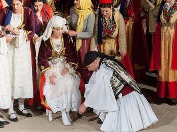 Как проходит свадебное торжество в Греции
