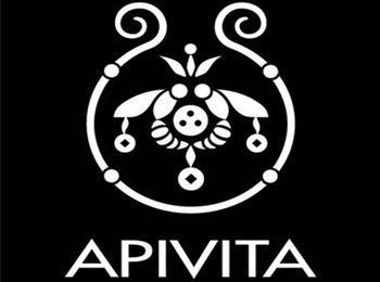 Фирменный логотип на продукции Apivita