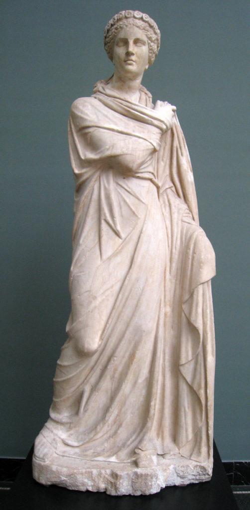 Сообщение о древнегреческих музах