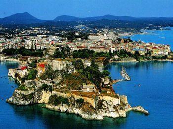 Гостеприимный остров Корфу в Греции