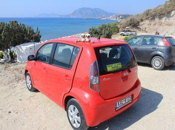 К пляжу можно добраться на любом транспорте