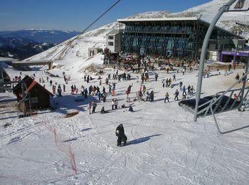 Популярный горнолыжный курорт Греции - Парнас
