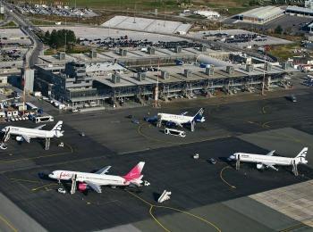 Один из самых больших аэропортов  в Греции