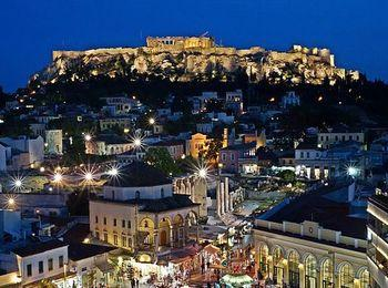 Плака - центральный район Афин