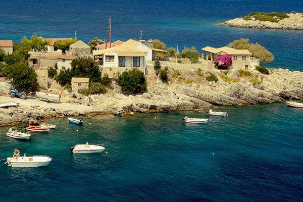 Одно из самых красивейших мест в Греции
