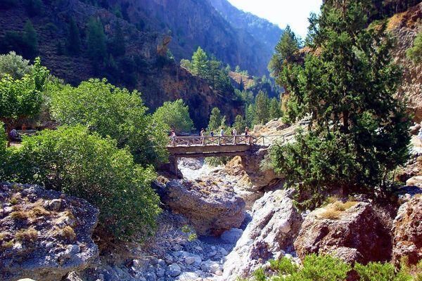 Ущелье оснащено самым необходимым для туристов