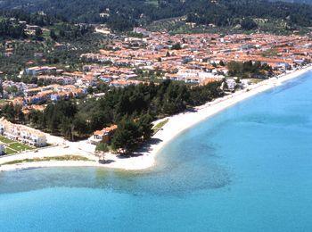 Курорт Пефкохори на полуострове Кассандра