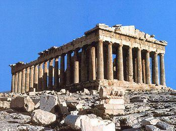 Древний Акрополь в Афинах