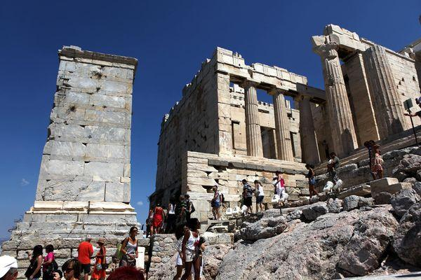 В древности здесь располагалась библиотека и галерея
