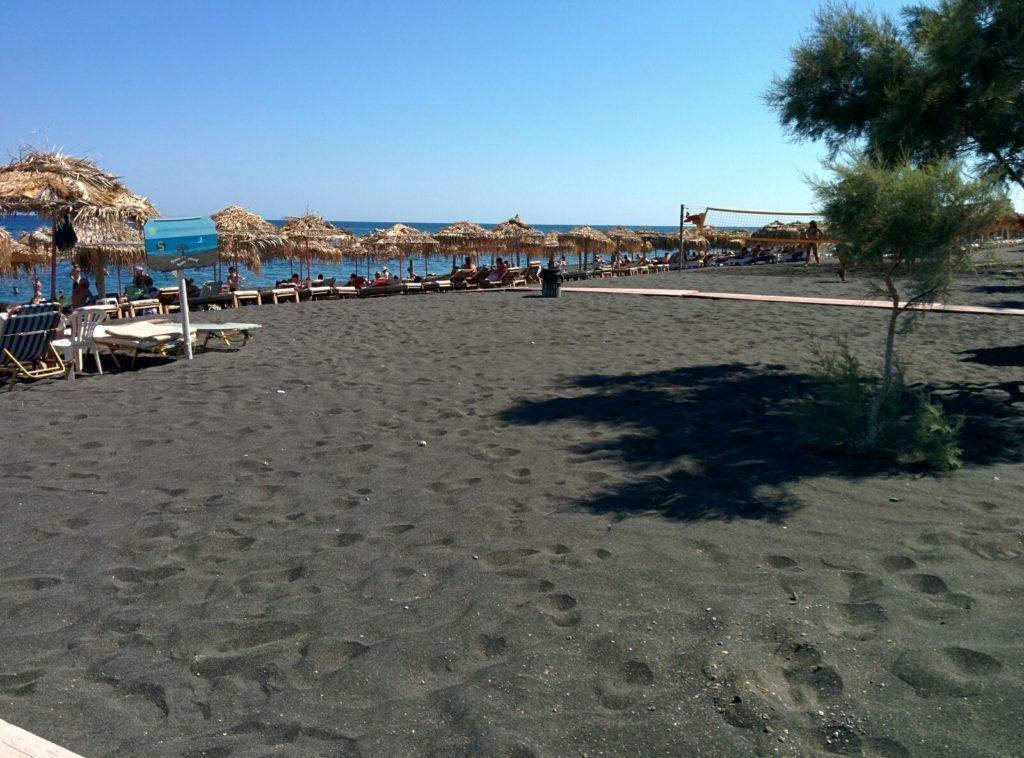 Черный пляж Санторини