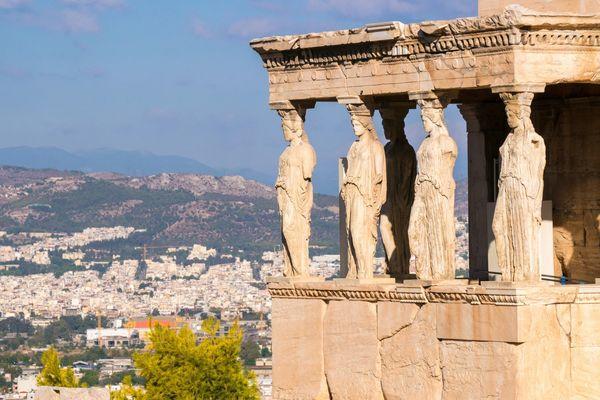 Мраморный Храм Ники Аптерос
