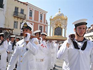 В Греции прошел праздник Успения Пресвятой Богородицы
