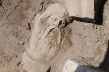 В Пелле обнаружена статуя божества