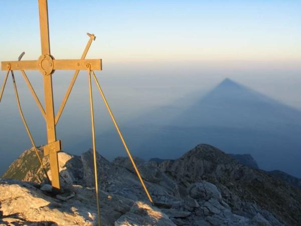 Честный Животворящий Крест горы Афон