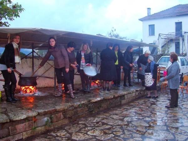 Праздник фасолевого супа в Греции