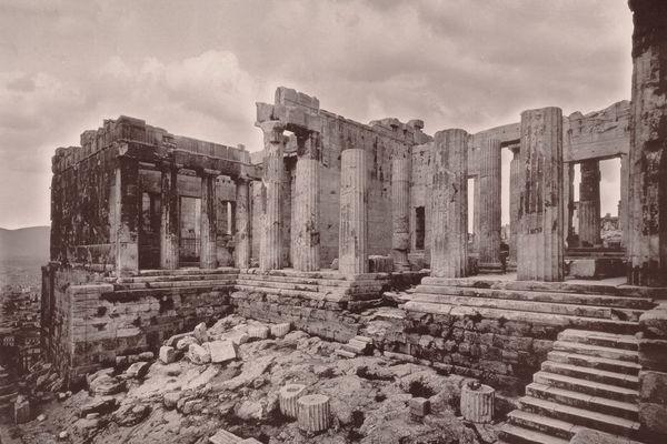 Афинский Акрополь и округа
