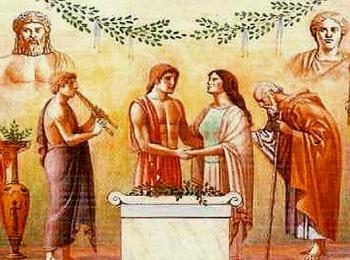 Свадебный обряд в Греции